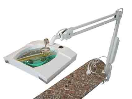 Lenti d 39 ingrandimento microscopi meccanismi al quarzo trapanini ottica visiere termometri - Lente ingrandimento da tavolo ...